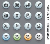 internet icons for web site ... | Shutterstock .eps vector #117548857