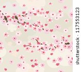 Cherry Blossoms Background...