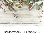 winter background | Shutterstock . vector #117567613