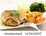 Roasted Chicken Breast With...