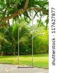 swing in the garden | Shutterstock . vector #117627877