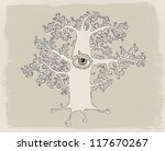 mysterious tree | Shutterstock . vector #117670267