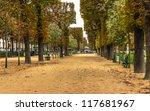 avenue in autumn | Shutterstock . vector #117681967