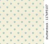 football polka dot seamless... | Shutterstock .eps vector #117695107