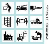 shipping management ...   Shutterstock .eps vector #117698617