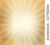 grunge paper. retro burst | Shutterstock .eps vector #117706363