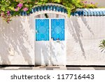 iron portal in tunisia | Shutterstock . vector #117716443