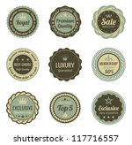 Vintage Labels Set. Sale ...