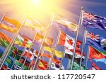 canada and british commonwealth ... | Shutterstock . vector #117720547