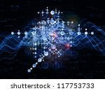 science series. artistic... | Shutterstock . vector #117753733