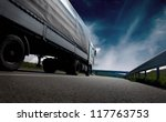 beautiful view with truckcar on