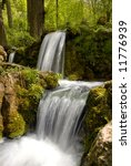 small waterfall with a clear... | Shutterstock . vector #11776939