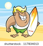 surfer   Shutterstock .eps vector #117834013
