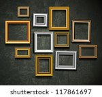 frame vector. photo or picture... | Shutterstock .eps vector #117861697