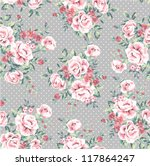 seamless wallpaper vintage... | Shutterstock .eps vector #117864247