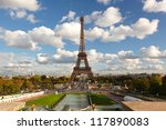 Famous Eiffel Tower In...