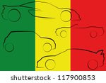 the flag of mali with the...