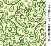 vector seamless  floral pattern ...