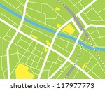 city map  vector illustration | Shutterstock .eps vector #117977773