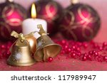 golden bells  in the background ... | Shutterstock . vector #117989947