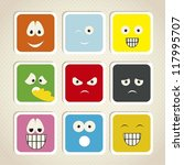 illustration of expressions... | Shutterstock .eps vector #117995707