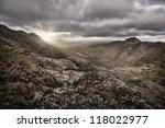 The Sun Rises Over The Mountai...