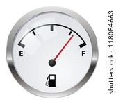 Fuel Indicator. Illustration O...