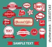 eps10 vector abstract design  ... | Shutterstock .eps vector #118107163