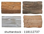 collection of various  empty... | Shutterstock . vector #118112737