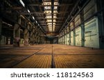 an abandoned industrial...
