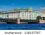 View Of St. Petersburg. Winter...