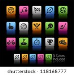 sports icons    color box     ... | Shutterstock .eps vector #118168777