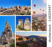 Collage Of Cappadocia Turkey...