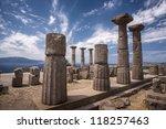 the ruins of assos | Shutterstock . vector #118257463