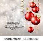 elegant classic christmas...   Shutterstock . vector #118280857