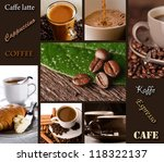 coffee collage   menu