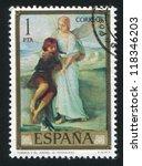 spain   circa 1974  stamp... | Shutterstock . vector #118346203