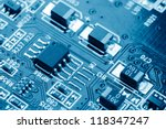 close up of electronic circuit... | Shutterstock . vector #118347247