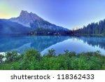 Emerald Lake Reflection  Yoho ...