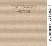 cardboard texture | Shutterstock .eps vector #118436347