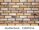 wall made of bricks | Shutterstock . vector #11845216