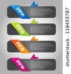 web banner set | Shutterstock .eps vector #118455787