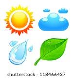 symbols which represent four...