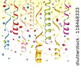 birthday background with... | Shutterstock . vector #118468333