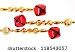christmas jingle red bells... | Shutterstock . vector #118543057