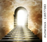 staircase leading to heaven or... | Shutterstock . vector #118577383