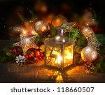 christmas scene. holiday... | Shutterstock . vector #118660507