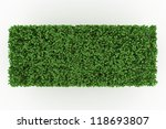 geometry shape bushes isolated... | Shutterstock . vector #118693807