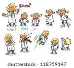science kids | Shutterstock .eps vector #118759147