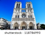 Notre Dame Cathedral  Paris ...